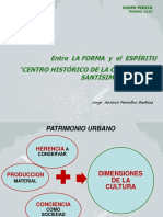 Entre La Forma y El Espiritu, Ponencia Ferrufino