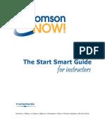 ThomsonNOW Start Smart Guide for Instructors