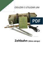 Como Produzir e Utilizar Um Zeltbahn (Meio-Abrigo)