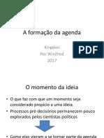 A formação da agenda.ppt