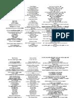 Liste Des Exemples Type