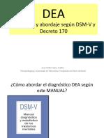 Dea, Según Dsm-V y d. 170