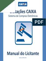 LICITANTE Manual Usuario Licitacoes Caixa
