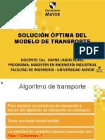 6 Solucion Optima Del Modelo de Transporte