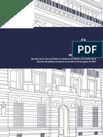 Minuta de La Reunión de La Junta de Gobierno Del Banco de México, Con Motivo de La Decisión de Política Monetaria Anunciada El 10 de Agosto de 2017 (24 Agosto 2017) (1)