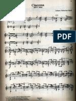 Johann Sebastian Bach - Ciaccona - BWV 1004 - transcription and revision by Abel Carlevaro.pdf