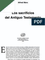 Alfred Marx - Los sacrificios en el Antiguo Testamento - Cuadernos Biblicos 111 - Verbo Divino.pdf