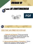 Unidad VI Plan de contingencias.ppt