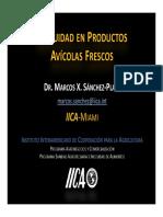 Sanchez Inocuidad Productos Avicolas Frescos