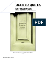 185304921 Reconocer Lo Que Es Bert Hellinger