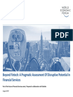Beyond Fintech - A Pragmatic Assessment of Disruptive Potential in Financial Services