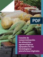 Canales de comercialización de alimentos agroecológicos apoyados en las tecnologías y plataformas digitales