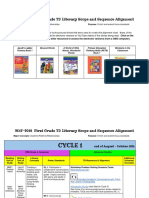 2017-2018 1st grade td literacy scope  sequence alignment