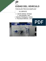Electricidad Del Vehiculo- Informe 1- Juan Pacompia