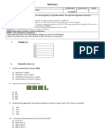 Evaluación math U1 3°