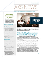 pentecost newsletter 2017