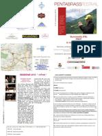Libretto Pent a Brass Festival 2010