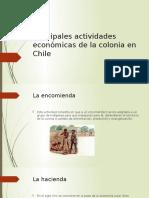 Principales Actividades Económicas de La Colonia en Chile