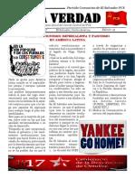 La Verdad, órgano de divulgación del PCS, N° 19, agosto 2017