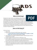 project 1  keywords  assignment sheet - google docs