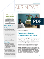 advent newsletter 2016