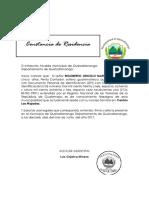El infrascrito Alcalde Municipal de Quetzaltenango.docx