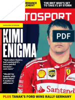 The Kimi Enigma - Autosport 24th August 2017