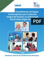 Manual de Procedimientos Interdisciplinario .......Erc Segun Estadios