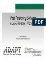 Post tensioning software