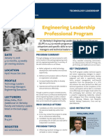 Engineering Leadership Professional Program