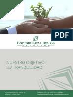 Modelo de Brochure a4ok Los Avalos