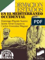 Placido D Alvar J Gonzalez Wagner C La Formacion de Los Estados en El Mediterraneo Occidental