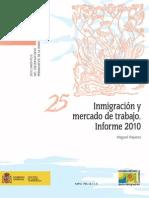Inmigración y Mercado de Trabajo 2010