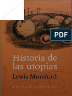 Mumford Lewis - Historia De Las Utopias.pdf
