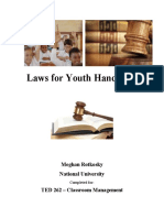 laws for youth handbook