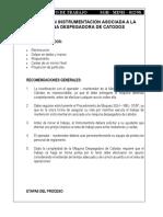 MINST-012_MANTENCION INSTRUMENTACION ASOCIADA A LA MAQUINA DESPEGADORA DE CATODOS.doc