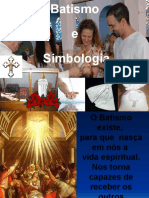 Batismo e Simbologia