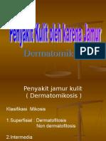 penyakit kulit karena jamur