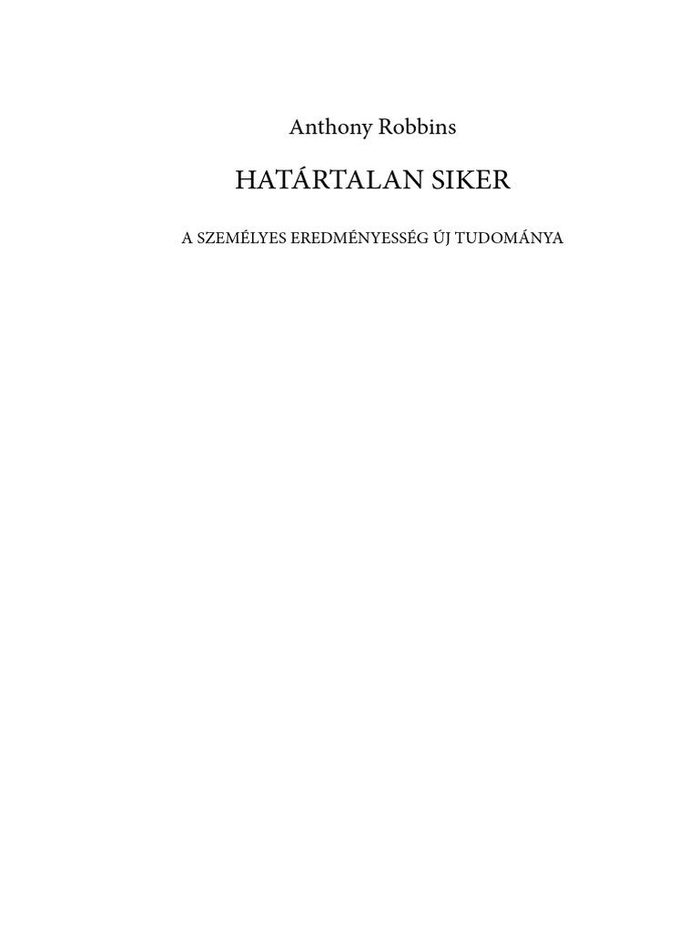 Anthony Robbins Hatartalan siker.pdf 655d159305