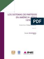 Sistemas de Partidos America Latina - Bolivia