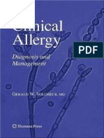 Clinical Diagnosis of Allergy