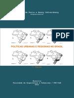 Políticas Urbanas e Regionais No Brasil