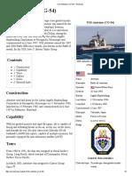 USS Antietam (CG-54) - Wikipedia