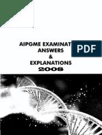 Mudit Khanna AIPGMEE 2008 Answers 1-99