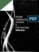 Mudit Khanna AIPGMEE 2010 Answers 1-99