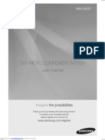 Mme460d User Manual