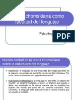 teoría Chomskiana