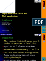 Highly Nonlinear Fibers and Their Applications