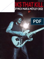 Hooks That Kill – the Best of Mick Mars and Motley Crue