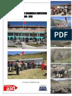PDC Lucanamarca 2009-2018
